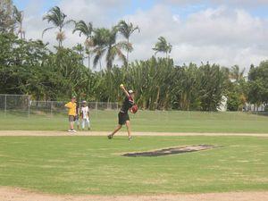 Junior sport: Softball