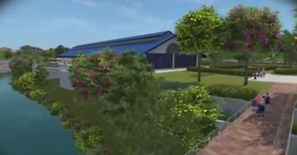 The Toowoomba Railway Parklands Priority Development Area (artist's impression).
