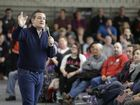 Republican presidential candidate Senator Ted Cruz speaks at Green County Community Center, Monday, Feb. 1, 2016, in Jefferson, Iowa. (AP Photo/Chris Carlson)