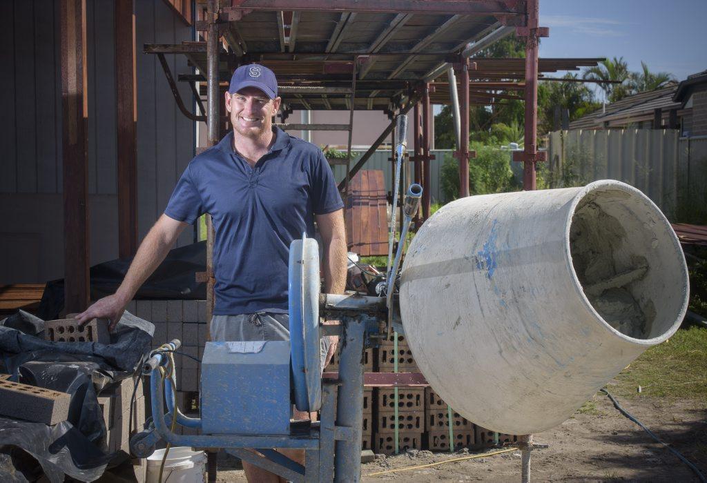 Builder Joe O'Keeffe - winner of Sportsperson of the Month