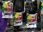 SUPPORTERS: Gay rights activists protest in favour of same-sex marriage in Sydney last September.
