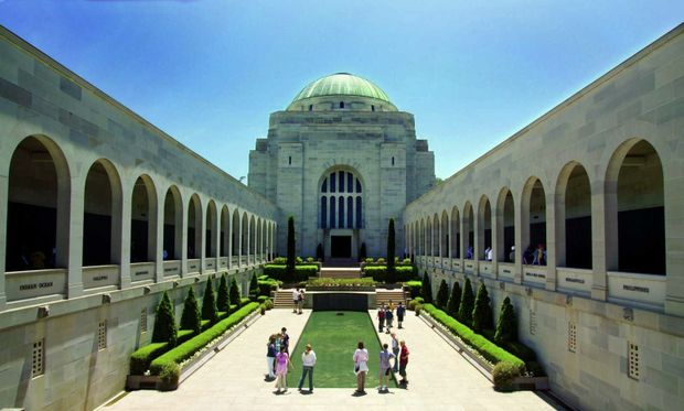 Previous recipients include the Australian War Memorial (ACT) for reconstruction of the Commemorative Area.