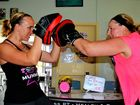 Personal trainer Carien Hesselberg works with Meagan Venson.