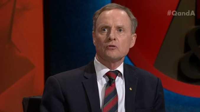General David Morrison on ABC panel show QandA
