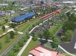 Toowoomba Railway Parklands flyover