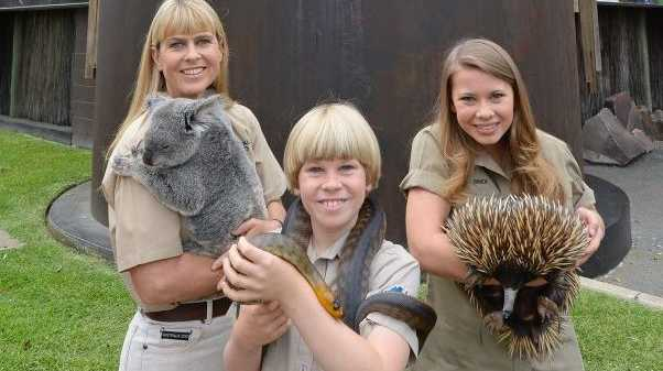 Terri, Robert and Bindi Irwin at Australia Zoo, which won the Major Tourist Attractions category at the 2015 Queensland Tourism Awards. CONTRIBUTED / QLD131115zoo1