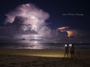 Sunshine Coast storm, February 2