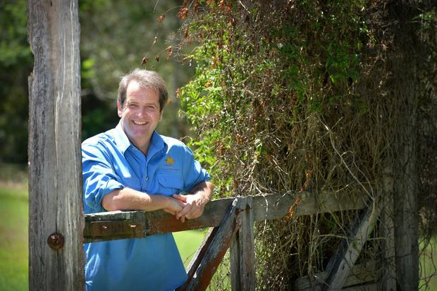 Will Taunton - Bernet general manager from Visit Oz. Photo Renee Albrecht/Gympie Times