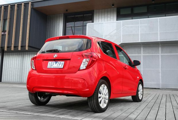 2016 Holden Spark. Photo: Contributed