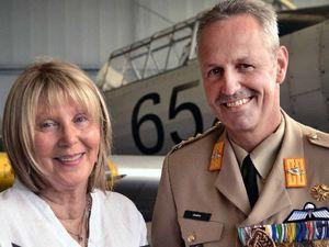 War medal awarded after death