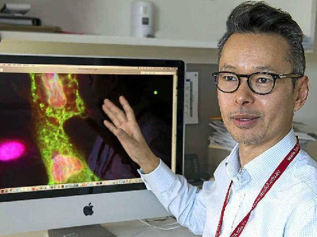 Professor John Kwok studies lifestyle factors and their effect on Alzheimer's.