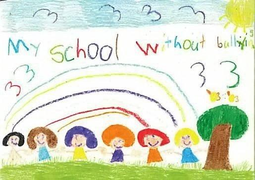 The winner of the 2014 Say No to Bullying Poster competition.