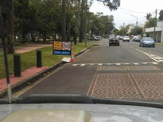 EPIC FAIL: A photo taken by a Hervey Bay driver showing a 100km/hour sign in a 50km zone is going viral.