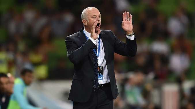 Sydney FC coach Graham Arnold. Photo: AAP Image.