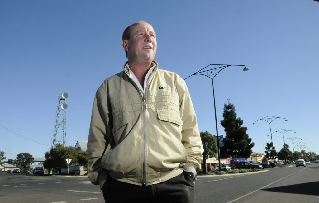 Craig Commens believes Oakey is a great place to live contrary to recent reports. Photo: Bev Lacey/The Chronicle