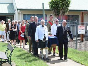 Mourners farewell military veteran Ken Crockford at Howard