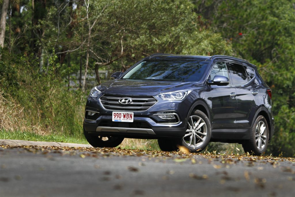 2016 Hyundai Santa Fe Highlander. Photo: Iain Curry