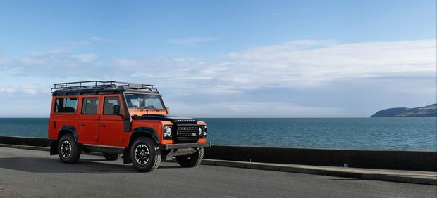 Land Rover Defender Adventure. Photo: Contributed