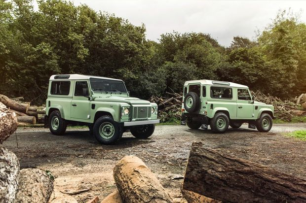 OLD ICON: Land Rover sends its Defender 4x4 - in production since 1948 - out with a bang with desirable Heritage and Adventure models. Marvellous, Old Boy.