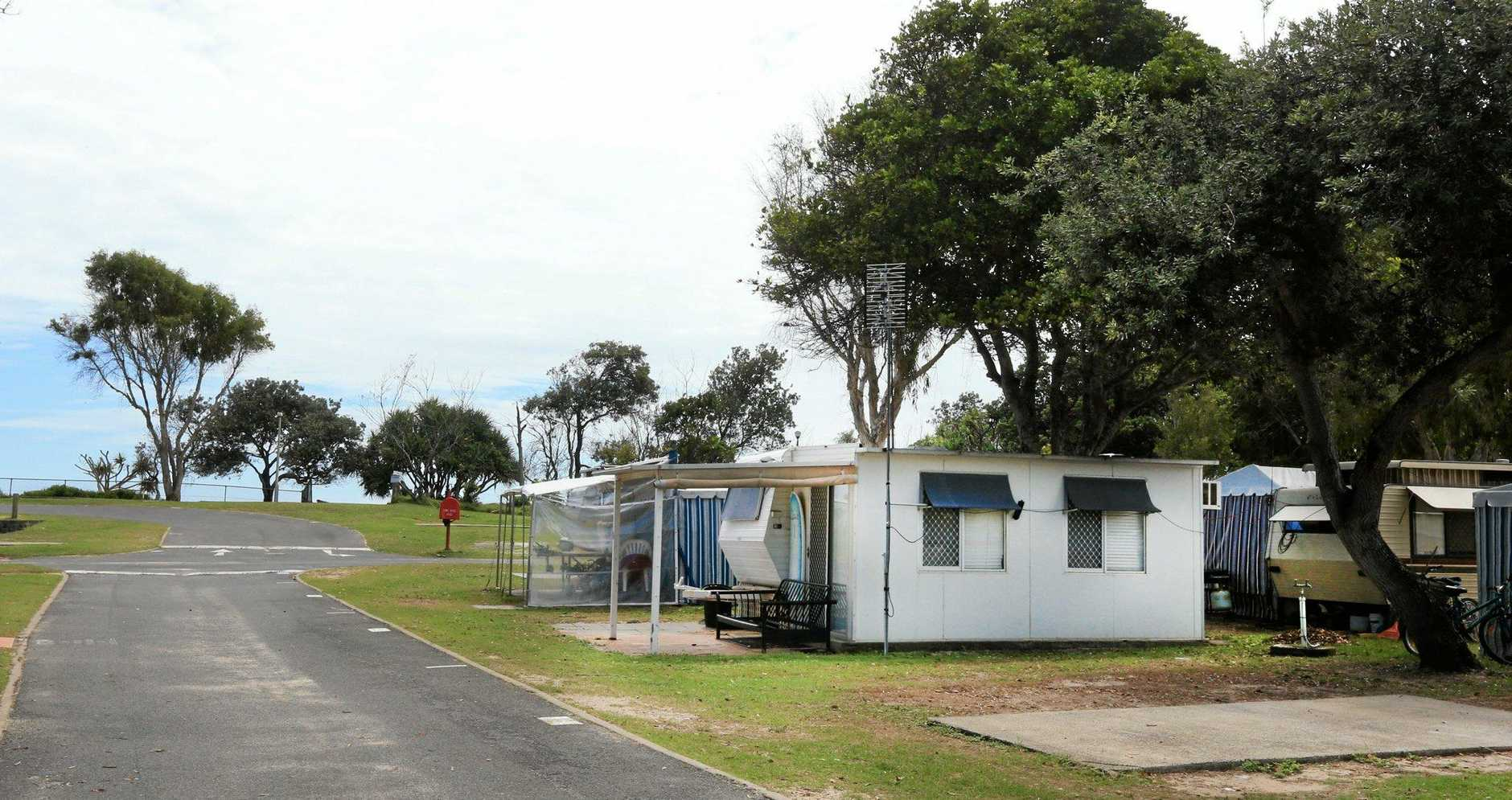 Caravan owners evicted from Fingal park   Tweed Daily News
