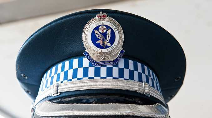 Police arrested a 23-year-old man who allegedly threatened to slice open a 58-year-old man with a large knife at Nimbin overnight. Photo: Rob Wright / The Coffs Coast Advocate
