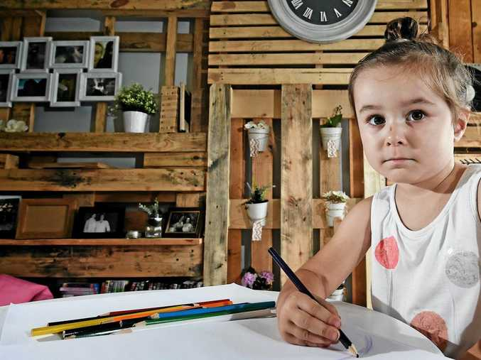 SHARP POLICY: Eva Todd, 3, of Goonellabah, is free to return to the Goodstart Early Learning Centre after a 'communication breakdown' about the delivery of her insulin supply.