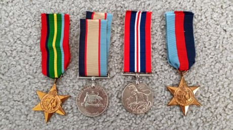 Leonard William Johnson's war medals have been found in a Brisbane home. Now the search is on for his surviving family.