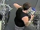 Brazen shoplift caught on store's CCTV