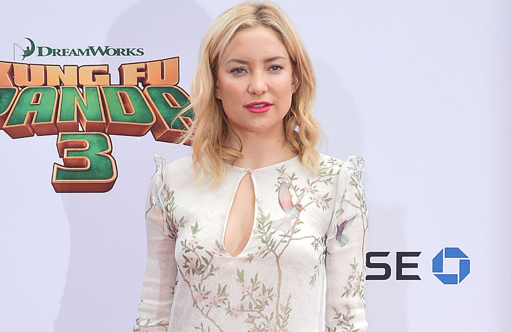 Actress Kate Hudson says the only way to achieve health goals