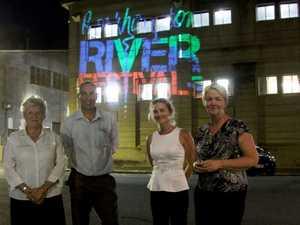Sneak peak provided of Riverside Revitalisation lights