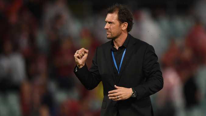 Wanderers coach Tony Popovic.