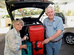 Gympie Meals on Wheels roster for week February 8-12