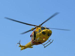 Man suffers neck injuries following mountain bike crash