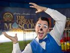 CLOWNING AROUND: Nino the Clown, Rafael Nino Jr. will perform at the Great Moscow circus Thursday, Jan 14, 2016 . Photo Nev Madsen / The Chronicle