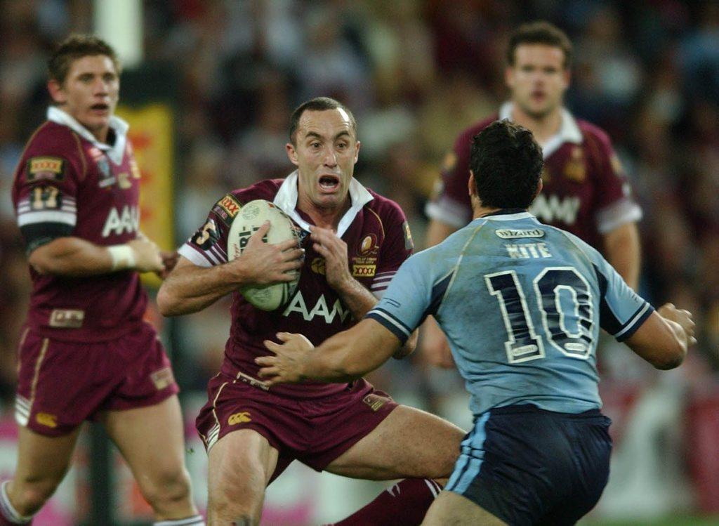 GUTS: Queensland's Adam Mogg.