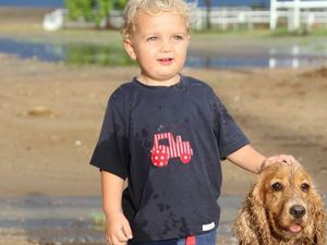 Two-year-old Longreach boy witnesses first proper storm