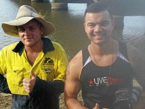Mackay man stumbles upon Guy Sebastian while fishing