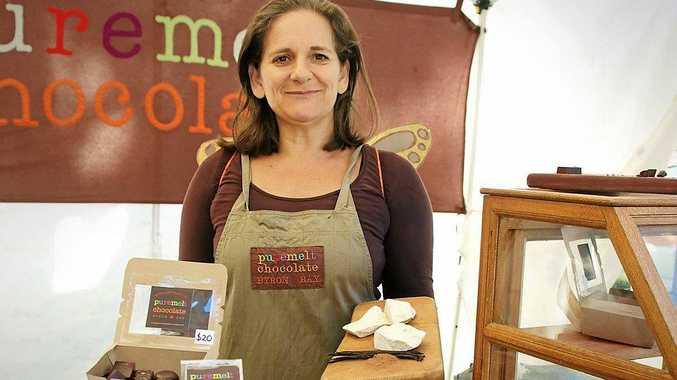 Puremelt Chocolate owner Sarah Wheeler. PHOTO: KATE O'NEILL