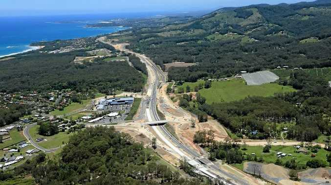The Sapphire to Woolgoolga Pacific Highway upgrade. Photo: RMS Photo Contributed