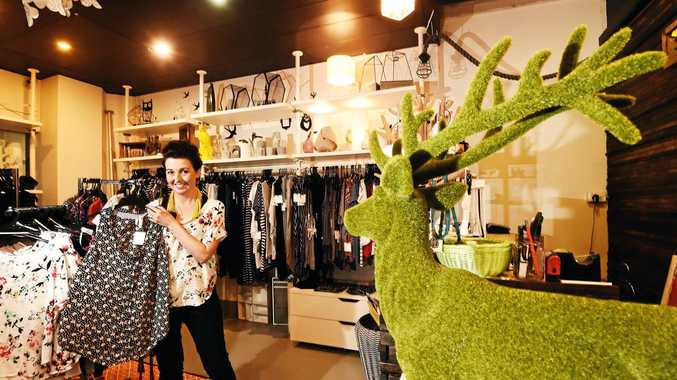 Wild at Heart owner Sharon Poles opened one of the four new stores based at the Star Court Arcade in Lismore.