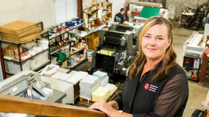 Jackie Mannix, Manager of Gladstone Printing Services.
