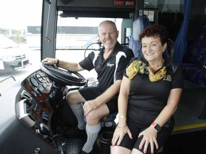 Kangaroo buses getting safety through to kids through rap