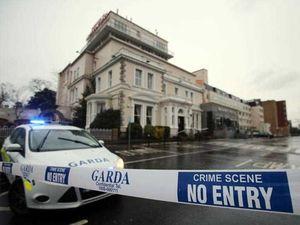 WATCH: Video shows moment gunmen open fire in Dublin hotel