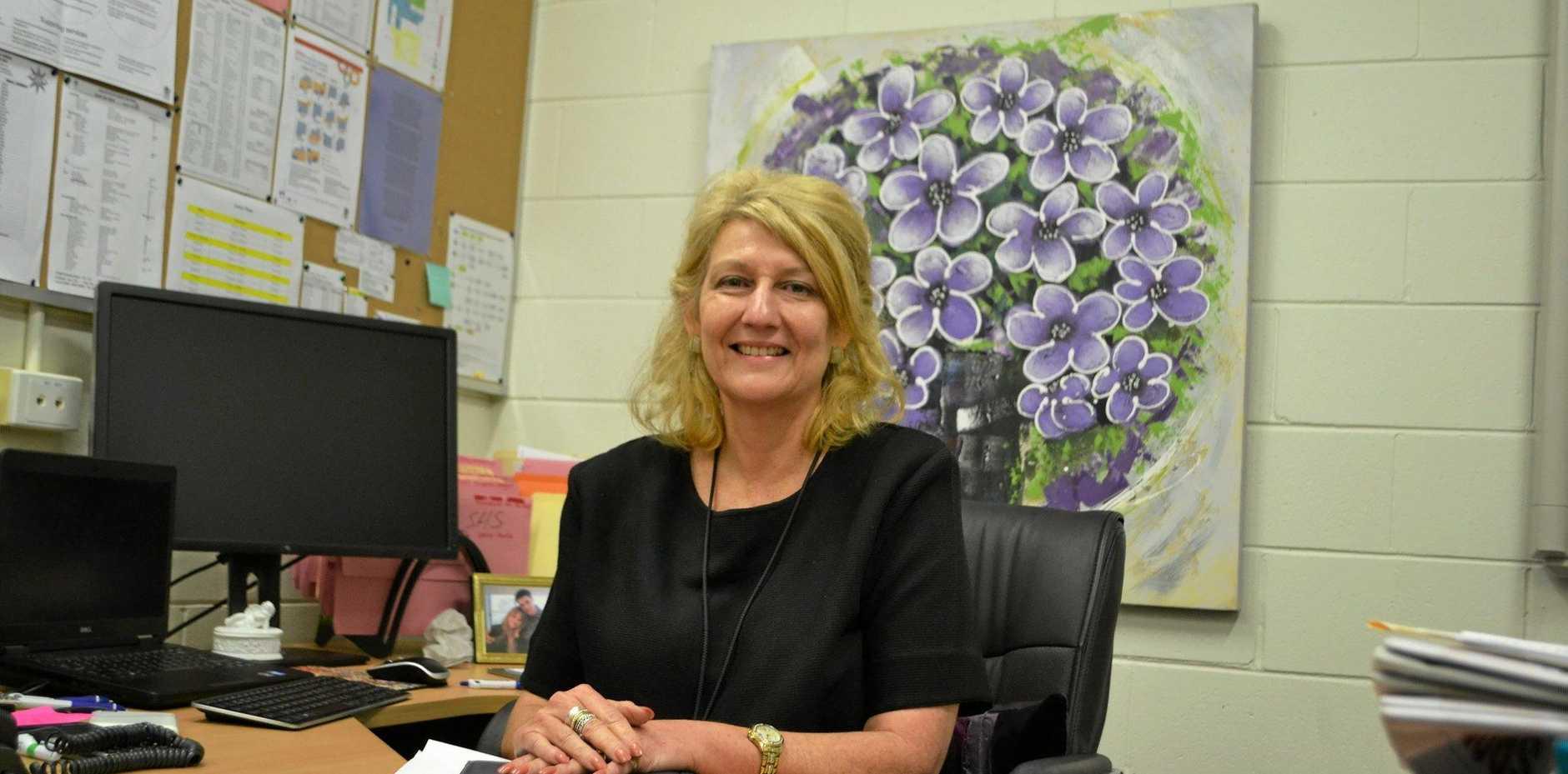 Miles State High School's new principal Josette Moffatt.
