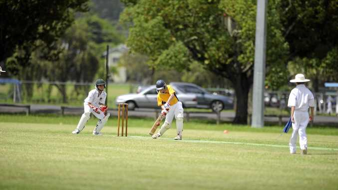 RISING STAR: Jack Cooper has been tipped for big things since his days a few years ago representing Far North Coast Gold in the Lismore Under-12 carnival (above). Jack, now 14, scored 85 for Marist Brothers against Pottsville in the Hooker League on Saturday.