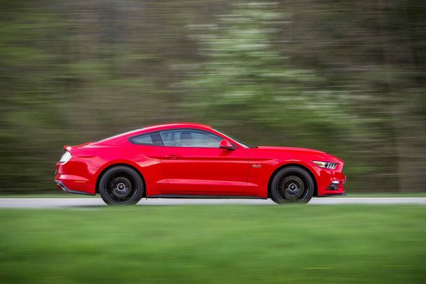 KEEP ON DRINKIN: All-new Ford Mustang GT