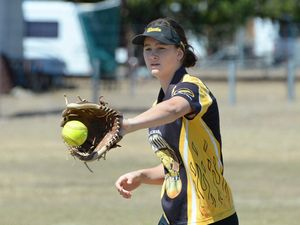 Softball players strike silver at national championships