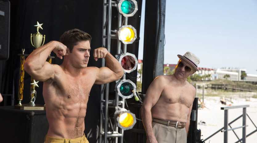 Zac Efron and Robert De Niro star in Dirty Grandpa.
