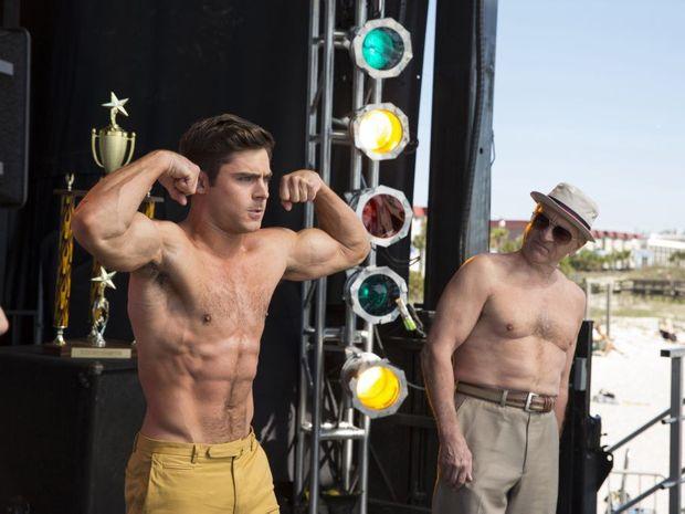 Zac Efron and Robert De Niro star in Dirty Grandpa.