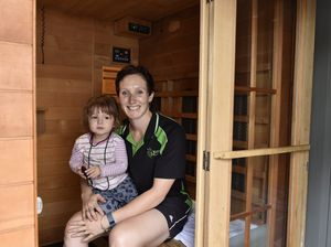 New infrared sauna